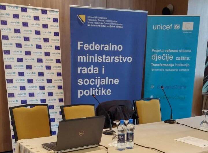 """ODRŽANA RADIONICA NA TEMU """"PODRŠKA RAZVOJU HRANITELJSTVA U FEDERACIJI BiH"""
